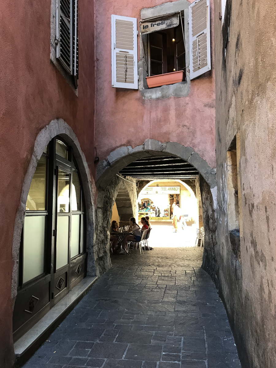 Passageway in Annecy France Europe Travel