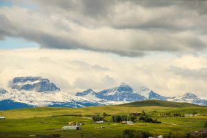 Old Chief Mountain in Southern Alberta